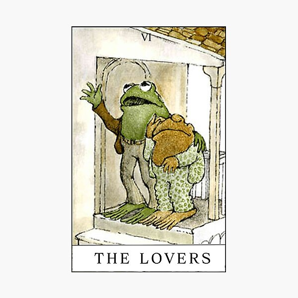FROG AND TOAD THE LOVERS  Photographic Print