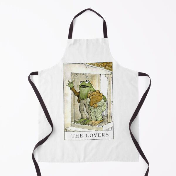 Frog And Toad The Lovers Apron By Gbrown1018 Redbubble