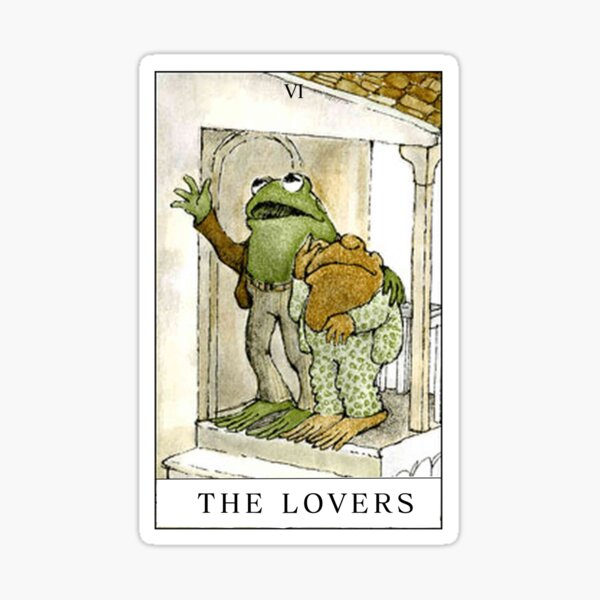 FROG AND TOAD THE LOVERS  Sticker