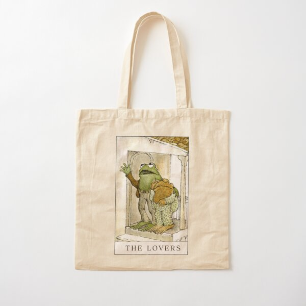 FROG AND TOAD THE LOVERS  Cotton Tote Bag