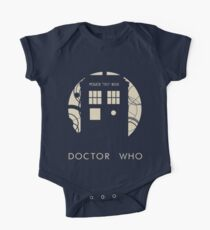 Doctor Who Poster One Piece - Short Sleeve