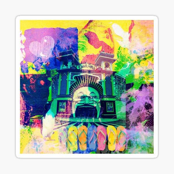 Luna Park, St Kilda, Melbourne Sticker