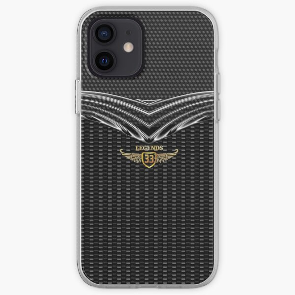 Legendary Number 33 iPhone Soft Case