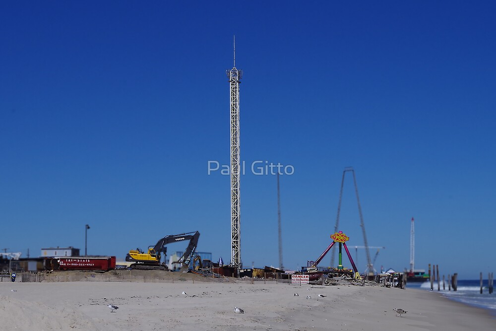 Funtown Pier - Fixing The Toys by Paul Gitto