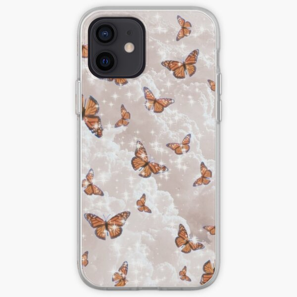Aesthetic Butterflies iPhone Soft Case