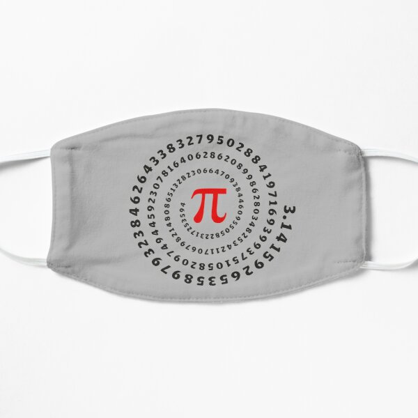 Pi, π, spiral, Science, Mathematics, Math, Irrational Number, Sequence Mask