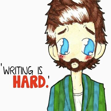 SUPERNATURAL - Chuck - Writing is Hard!  by IamChibivillage