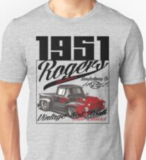 1951 car by rogers brothers Slim Fit T-Shirt