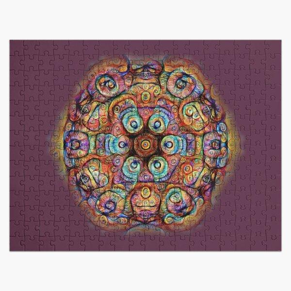 #DeepDreamed Amulet Jigsaw Puzzle