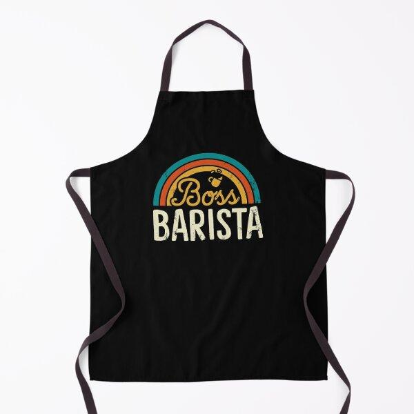 Retro Boss Barista Apron