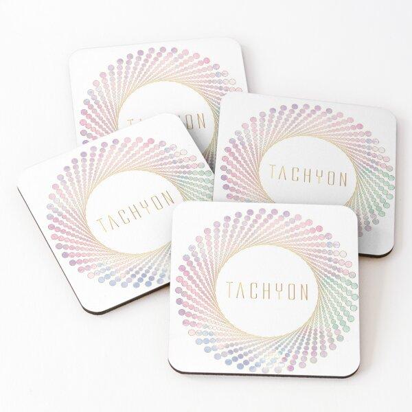 Tachyon Healing Energy Coasters (Set of 4)