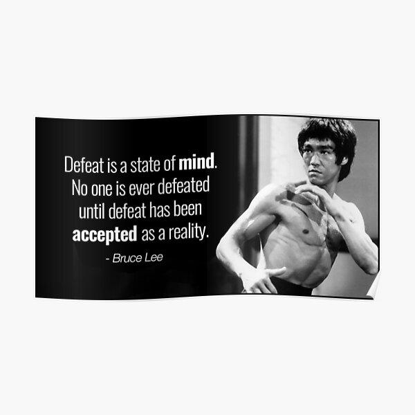Bruce Lee Mind Poster
