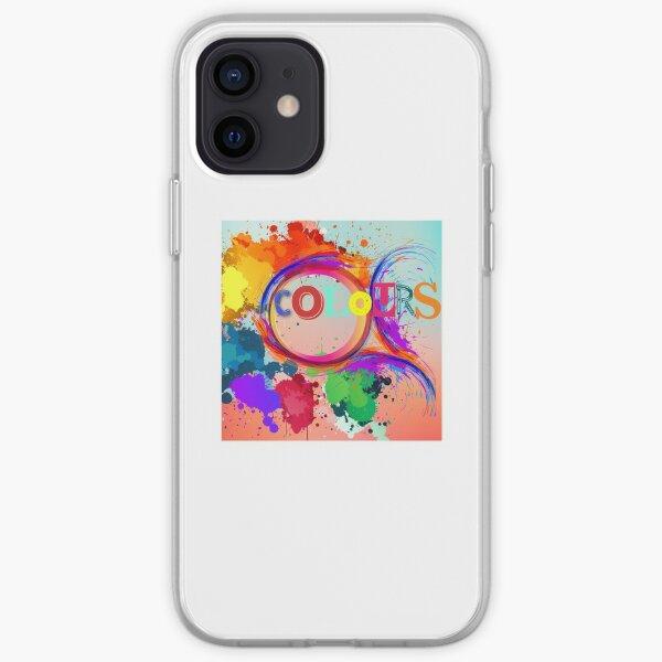 Colours iPhone Soft Case