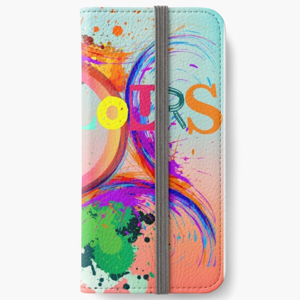 Colours iPhone Wallet