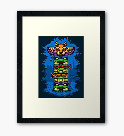 Totem-lly Radical Framed Print