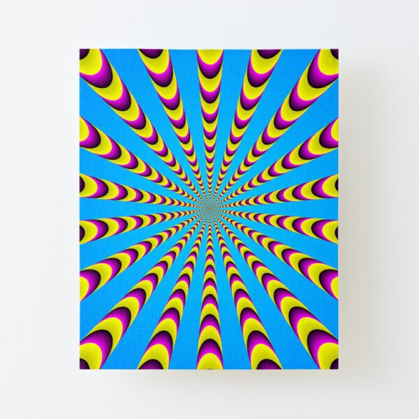 Optical iLLusion - Abstract Art, Canvas Mounted Print