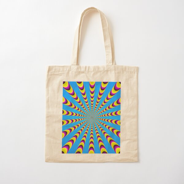 Optical iLLusion - Abstract Art, Cotton Tote Bag