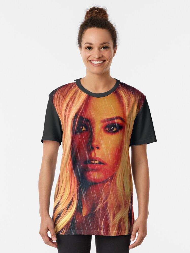 Alternate view of Rain Graphic T-Shirt