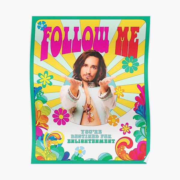 Umbrella Academy Klaus- Follow Me Poster
