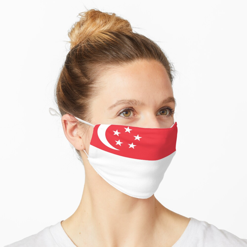 Singapore Flag Face Mask Mask