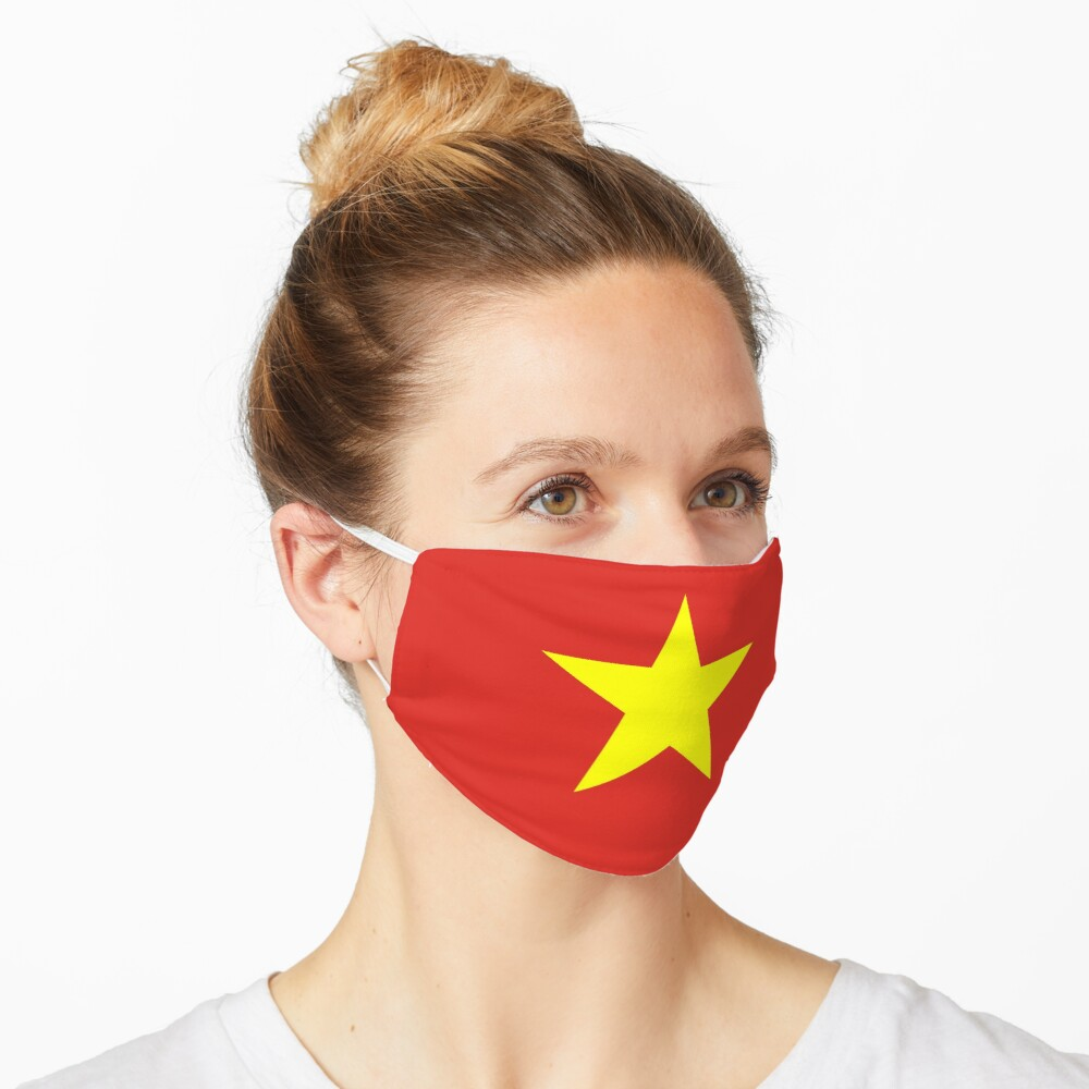 Vietnam Flag Face Mask Mask
