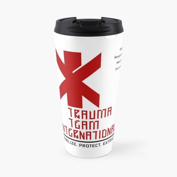 Cyberpunk Trauma Team International Travel Mug