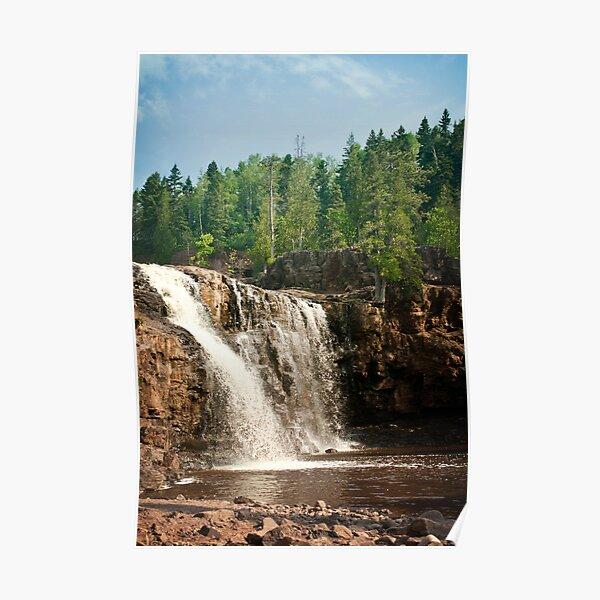 Gooseberry Falls, North Shore, Minnesota Poster