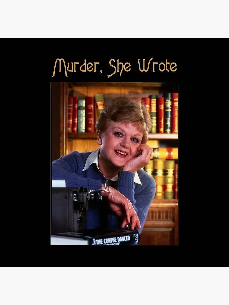 Vintage Murder She Wrote Love Jessica Fletcher's Gifts by HodgeBrucePick