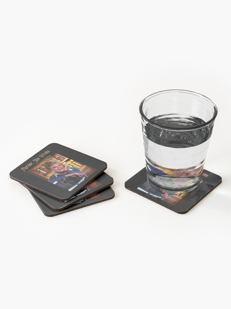 Alternate view of Vintage Murder She Wrote Love Jessica Fletcher's Gifts Coasters (Set of 4)