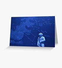 Spaceman - Natural History Museum Greeting Card