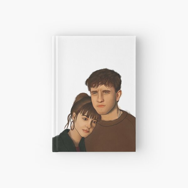 Normal People - Marianne and Connell Hardcover Journal