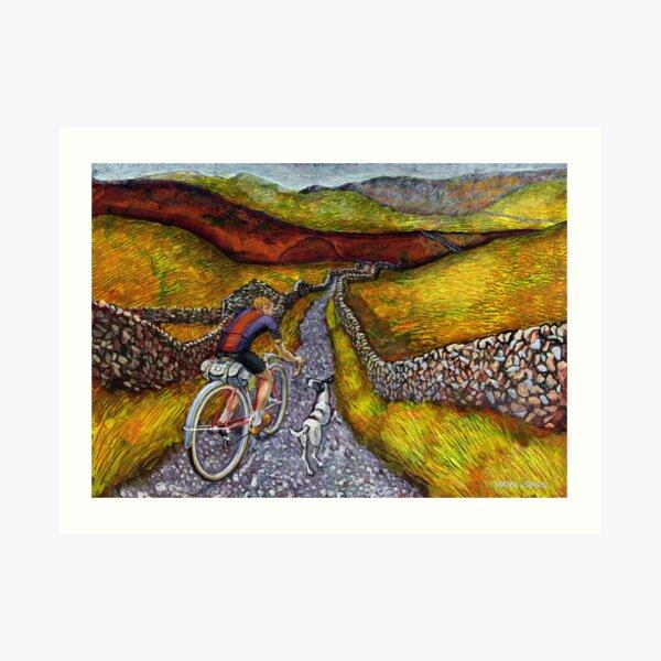Lancashire lanes II Art Print