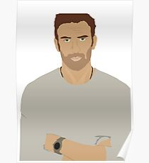 Chris Evans Rotoscope Poster