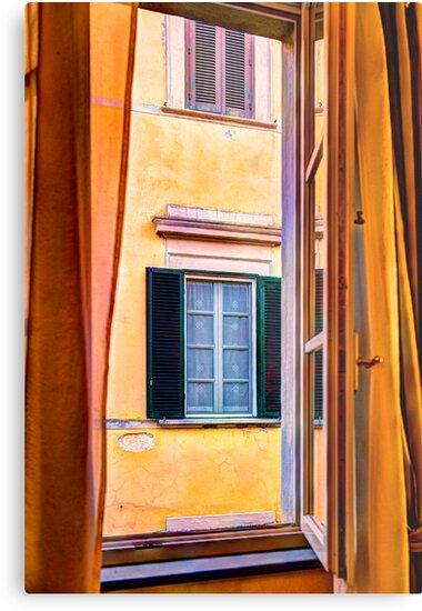 Pisa Window by Bruce Taylor