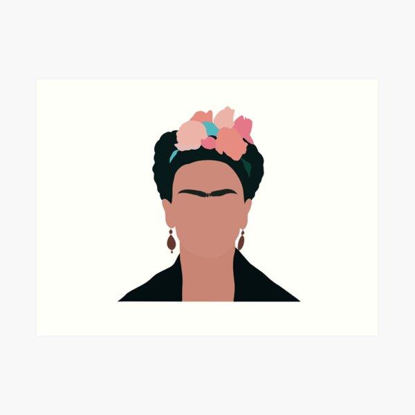 Frida Khalo Impression artistique