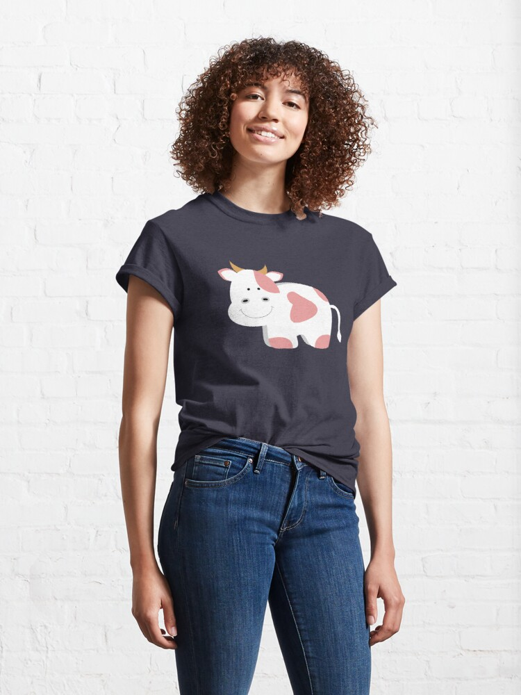 Alternate view of Happy Cow Classic T-Shirt