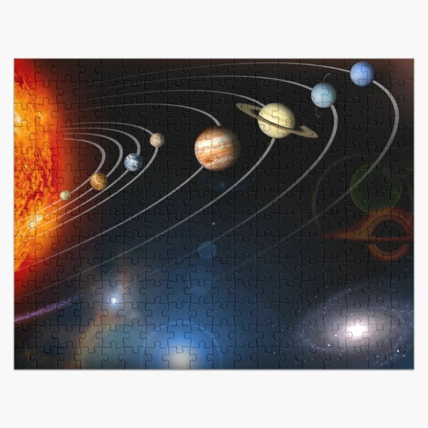 Solar System with New Black Hole Image Jigsaw Puzzle