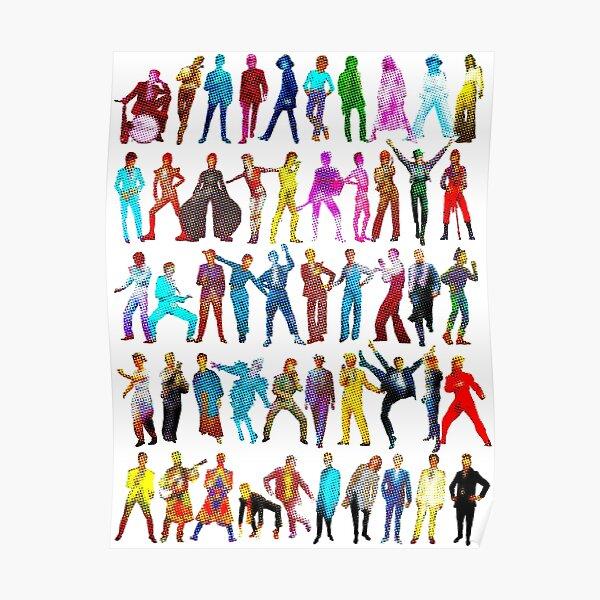 DAVID BOWIE inspired metamorphosis POP ART Poster