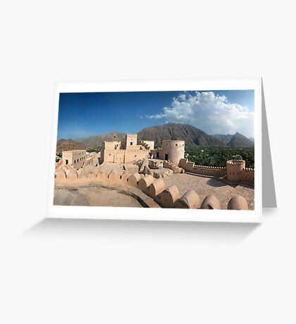 Inside Nakhl-Fort  Greeting Card