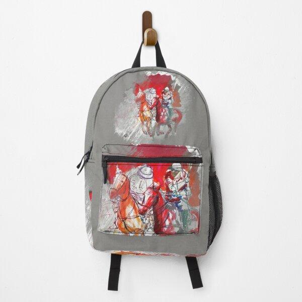 poloplayer grey abstract Rucksack