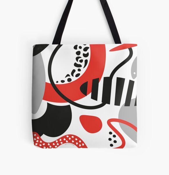 Pop Power All Over Print Tote Bag