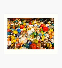 Have you lost your marbles? Art Print