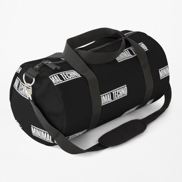 Minimal Techno  Duffle Bag