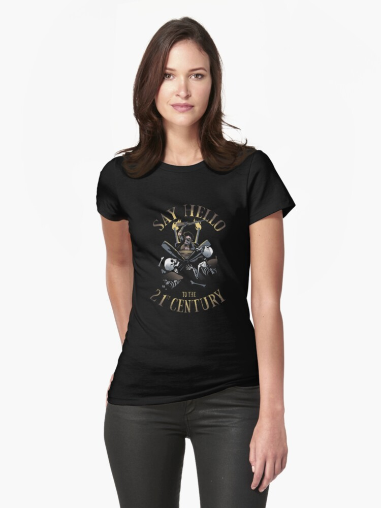 Ash says hello. Womens T-Shirt Front