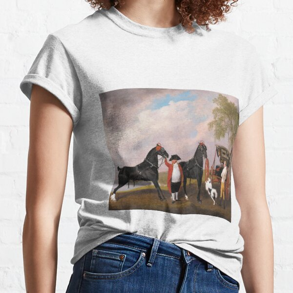 George Stubbs - The Prince Of Waless Phaeton 1793 Classic T-Shirt