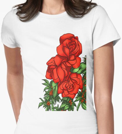Lovely Roses for the Lady T-Shirt