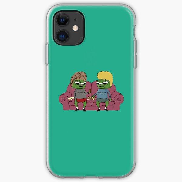 Beavis & Butthead Apu Apustaja & Tendies  iPhone Soft Case