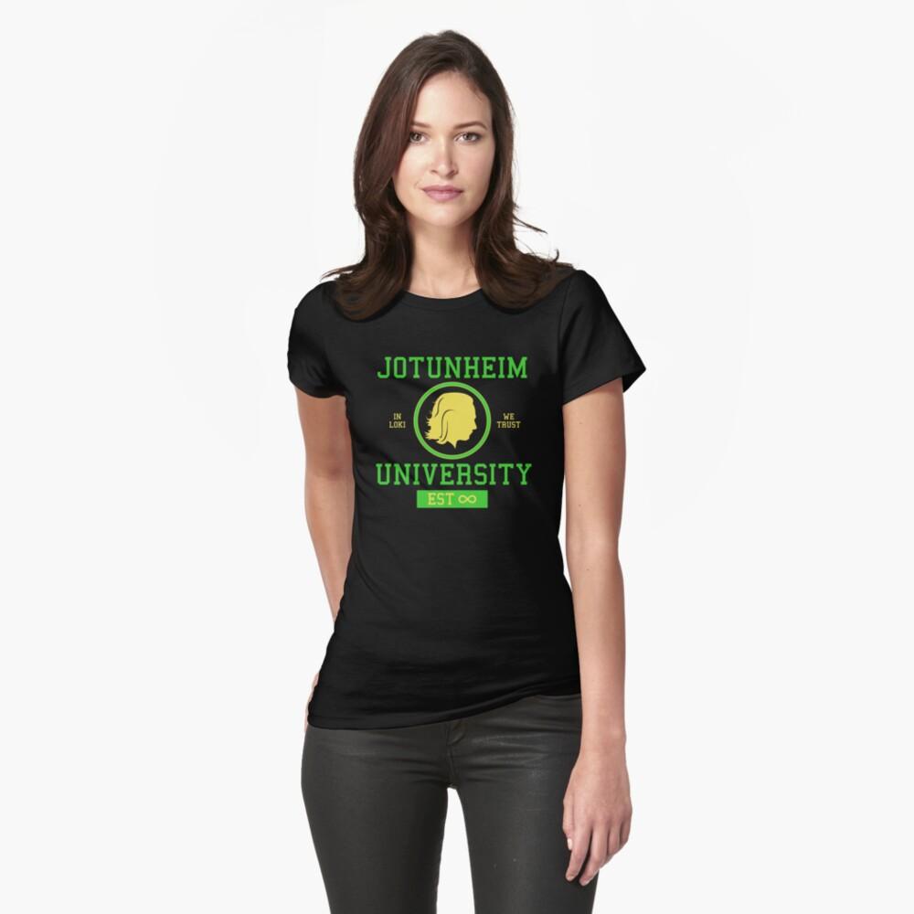 Jotunheim University Fitted T-Shirt