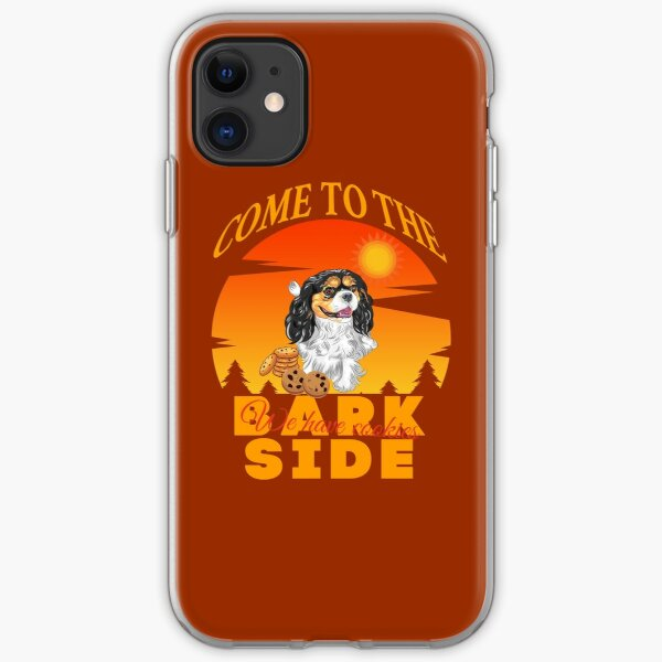 Cavalier King Charles Spaniel Come To The Bark Side We Have Cookies iPhone Soft Case