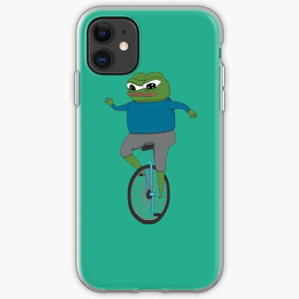 Apu's Cozy Unicycle Ride iPhone Soft Case